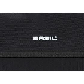 Basil Kavan Rounded Doppeltasche XL schwarz